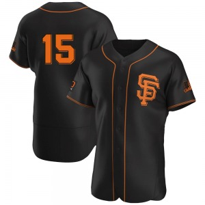 Bob Brenly San Francisco Giants Authentic Alternate Jersey - Black