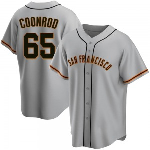 Samuel Coonrod San Francisco Giants Youth Replica Road Jersey - Gray