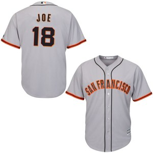 Connor Joe San Francisco Giants Authentic Cool Base Road Majestic Jersey - Gray